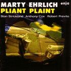 MARTY EHRLICH Pliant Plaint album cover