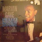 MARVIN GAYE Hello Broadway album cover