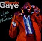 MARVIN GAYE Recorded Live In Miami album cover