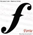 MASAHIKO SATOH 佐藤允彦 Forte : Piano Duo Live at Studio F album cover
