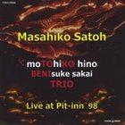 MASAHIKO SATOH 佐藤允彦 Live At Pit-Inn '98 album cover