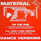 MATERIAL I'm The One (Dance Versions) album cover