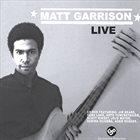 MATTHEW GARRISON Live album cover