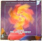 MEL LEWIS The New Mel Lewis Quintet Live album cover