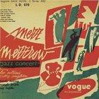 MEZZ MEZZROW Jazz Concert: Enregistre Salle Pleyel, 5 Fevrier 1952 album cover