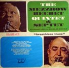 MEZZ MEZZROW Mezz Mezzrow & Sidney Bechet : Breathless Blues album cover