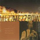 MEZZ MEZZROW White Nigger album cover