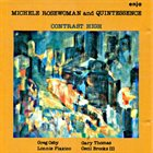 MICHELE ROSEWOMAN Contrast High album cover