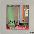 MILCHO LEVIEV Piano Lesson album cover