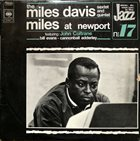 MILES DAVIS At Newport 1958 album cover