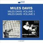 MILES DAVIS Classic Albums: Miles Davis: Volume 1 / Miles Davis: Volume 2 album cover
