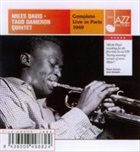 MILES DAVIS Complete Live in Paris 1949 album cover