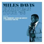 MILES DAVIS European Tour 1956 album cover