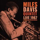 MILES DAVIS Live 1967 University Of California album cover