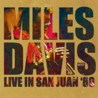 MILES DAVIS Live in San Juan '89 album cover