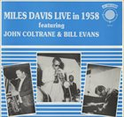 MILES DAVIS Miles Davis All-Stars Live in 1958-59 album cover