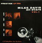 MILES DAVIS Miles Davis All Stars, Vol. 1 album cover