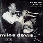 MILES DAVIS Volume 2 album cover