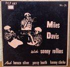 MILES DAVIS With Sonny Rollins (aka Miles Davis Blows aka Miles Davis Quintet) album cover