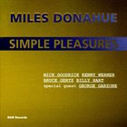 MILES DONAHUE Simple Pleasures album cover