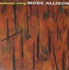 MOSE ALLISON Autumn Song album cover