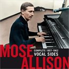 MOSE ALLISON Complete 1957-1962 Vocal Sides album cover