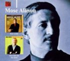 MOSE ALLISON Mose Alive! Wild Man on the Loose album cover