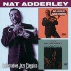 NAT ADDERLEY Sayin' Something / Live At Memory Lane album cover