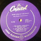 NAT KING COLE Nat King Cole At The Piano album cover