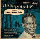 NAT KING COLE Unforgettable album cover