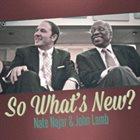 NATE NAJAR So What's New album cover