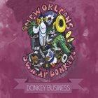 NEW ORLEANS SWAMP DONKEYS Donkey Business album cover