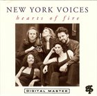 NEW YORK VOICES Hearts of Fire album cover