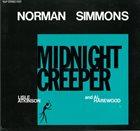 NORMAN SIMMONS Midnight Creeper album cover