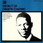 ORNETTE COLEMAN The Best of Ornette Coleman (1970) album cover
