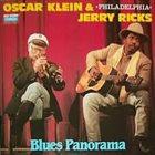 OSCAR KLEIN Blues Panorama (with  Philadelphia Jerry Ricks) album cover