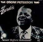 OSCAR PETERSON At Zardi's album cover