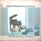 OSCAR PETERSON Blues Etude album cover