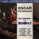 OSCAR PETERSON En Concert Avec Europe 1 1961-1969 album cover