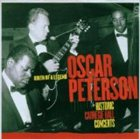 OSCAR PETERSON Historic Carnegie Hall Concerts: Birth of a Legend album cover
