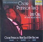OSCAR PETERSON Last Call At The Blue Note album cover