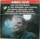 OSCAR PETERSON Live At The Northsea Jazz Festival, The Hague, Holland, 1980 album cover