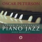 OSCAR PETERSON Marian McPartland's Piano Jazz Radio Broadcast album cover