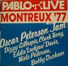 OSCAR PETERSON Montreux '77 album cover