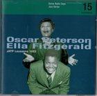 OSCAR PETERSON Oscar Peterson, Ella Fitzgerald, JATP : Lausanne 1953 album cover