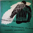 OSCAR PETERSON Oscar Peterson Plays Harry Warren album cover