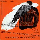 OSCAR PETERSON Oscar Peterson Plays Richard Rodgers album cover
