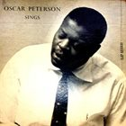 OSCAR PETERSON Oscar Peterson Sings album cover