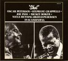 OSCAR PETERSON Oscar Peterson + Stephane Grappelli + Joe Pass + Mickey Roker + Niels-Henning Ørsted Pedersen ‎: Skol album cover