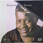 OSCAR PETERSON Recital album cover